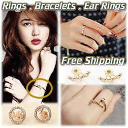 Bracelets★Ear Rings★Rings★Singapore FashionJewellery★Fashion★Costume Jewerly★Free Delivery