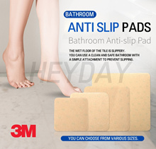 [3M] Anti-Slip Pads 10pcs/ Adhesive Bathroom Non-Slip Sticker/Toilet Anti Slip Tape/Safety-Walk Tape