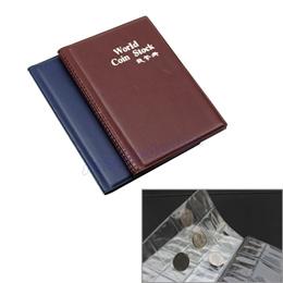 6893077b535 E74 Randomly color 120 Coin Holders Collection Storage Money Penny Pockets  Album Book Collecting