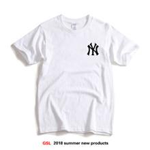 174c24777 ✅✅ny short sleeve Baseball shirt Yankees T-shirt male Yankee baseball team  uniform ins Super fire sh