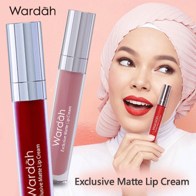 Qoo10 Ready Stock Wardah Exclusive Matte Lip Cream No 1 18