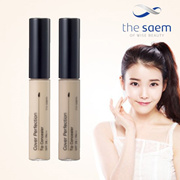 [the SAEM] Cover Perfection Tip Concealer (6.8g) / SPF 28/PA++ / 01:Clear Beige / 1.5:Natural Beige / 2:Rich Beige