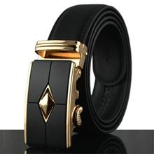 Premium Quality Best Seller MB031 Business Men Leather Belt [BLACK/READY STOCK]