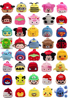 Back To School Cartoon children backpack bags Clearance Stock!!!