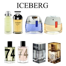 Parfum Original ICEBERG for Men and Women *Authentic Iceberg Fragrances Collection