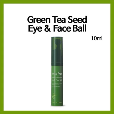 Green tea seed eye and face ball