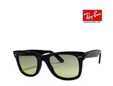 [iroiro] Ray-Ban Ray-Ban glasses frame RX5121 2000 Black WAYFARER funky color Green Gray / Yellow Japan Regular RCP
