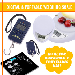 Kitchen Weighing Scale Portable and Digital Ideal for cookingsellers travellers! Weighing Scale