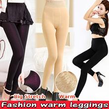 2018 Warm Leggings / Casual Pencil pants / Skinny pants / Thermal wear / Big Stretch / Soft / Slim