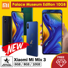 [GROUPBUY]Xiaomi Mi Mix 3 6.39 Inch 4G LTE Snapdragon 845 8GB 256GB 12.0MP+12.0MP Dual Camera