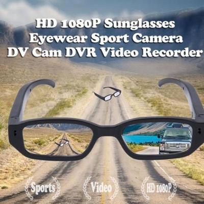 985bcf03426 HD Spy Camera Glasses 1080P Hidden Eyeglass Sunglasses Cam Eyewear DV DVR  2018
