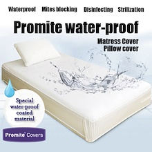 Promite Waterproof/Anti-Dust-Mite Mattress Protector/Made in Korea