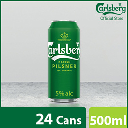 Carlsberg Green Label Can 500ml ( Pack of 24 )