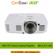 Acer H6517ST Home Cinema Projector FHD Short Throw (1920x1080)  3000 lumens