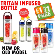 BUY 1 GET 2!! TRITAN Fruit Water Bottle (Infuse Water)