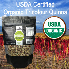★1KG PROMO★MAY SPECIAL! ★USDA Organic Certified High Quality Tricolour Quinoa
