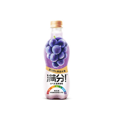 Genki Forest Juice Drink Grape 380ml x 2
