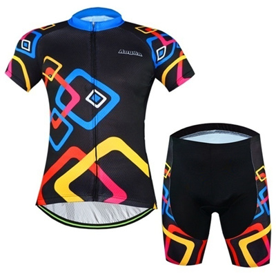 a6a3b842e Men Bike Clothing Suits Black Cycling Jersey Sets Bicycle Top Cycling Wear  Shirts mtb Garment Clothe