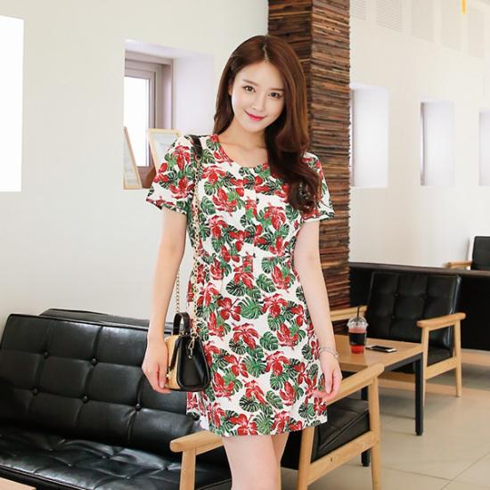ジェイ・スタイルビックサイズジェティやリンネンスパンワンピース 大きいサイズ/ワンピース/韓国ファッション