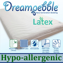 Dreampebble Latex 5.5 * Premium Full Natural Latex / Fabric * Hypo-allergenic * Thailand Original