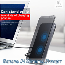 💋Hot Stuff💋Baseus Qi Fast Wireless Charger For iPhone X Samsung Note 8 S8 Plus S7 S6 Edge  /SG