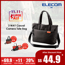 ★Elecom Japan★Off Toco 2 Way Camera Tote Bag / Sling Bag/ Shoulder Bag / DSLR Nikon Canon