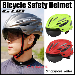 GUB Safety Helmet★Electric Scooter Bicycle★Cycling★Foldable Bike Cycling★Sunglasses★SG Seller