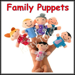 ★ SG Seller ★ Family Finger Puppets/Animal Finger Puppets/Baby Toys/Educational Toys/Fun Toys