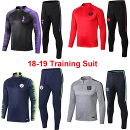 2018-2019 Training Suit Arsenal/Dortmund/Real Madrid/Barcelona/Manchester United/Juventus Sweater