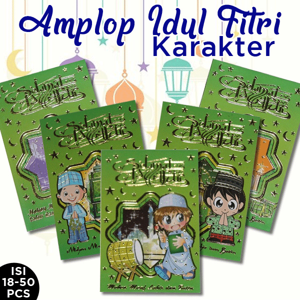 Amplop Angpau Lebaran / Idul Fitri/ merried Banyak jenis 18 Deals for only Rp30.000 instead of Rp30.000