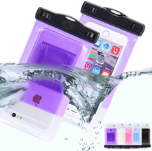 Water Proof Bag Waterproof Pouch Mobile Phone Case For HTC One M7 M8 M9 Desire 310/300/600 For Huawei P6 P7 P8 Lite Mini