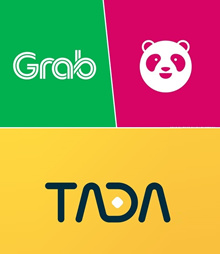 Grab Gift (Ride/Food) / FoodPanda/ TADA Voucher Fast Delivery eTicket