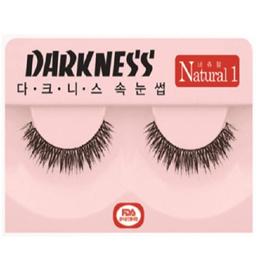 Darkness Faux Eye Lashes (Natural 1) 10ea Set K-Cosmetics