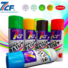 7CF Aerosol Spray Paint Made By Best Paint Raw Materials