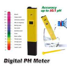 Digital PH Meter Tester [FREE 2 BUFFER CALIBRATION POWDER] Pen Pocket Measure LCD SPA Pool Water Advanced Great for Aquarium Fish tank Turtle Aquatic tools