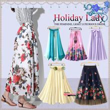 **Gift Wrapping**Chiffon Skirt**Bohemia Long Skirt Beach Skirt Swing Skirt 2 Ways Dress