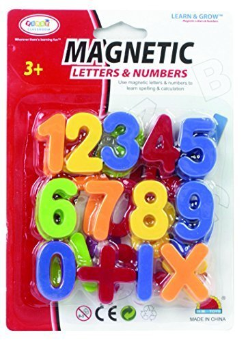 Qoo10 First Classroom Magnetic Numbers Symbols In A Small