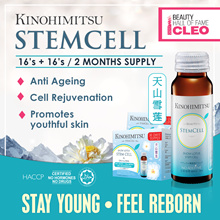 Kinohimitsu Collagen Stemcell 16s+16s LIMITED PROMO Snow Lotus+Stemcell+DNA Anti Aging