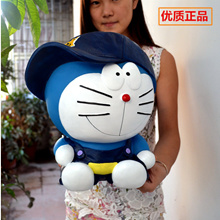 Extra large piggy bank giant piggy bank large Doraemon children cute piggy Super creative gift