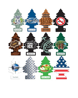 Little Trees Car Air Freshener Fragrance Scents for Car Home Toilet Wardrobe Cabinets