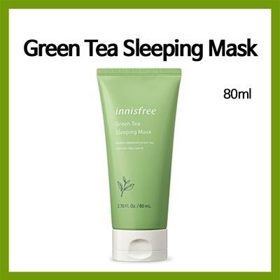 Green tea sleeping mask