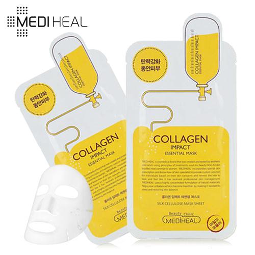 Mediheal Collagen Impact masker untuk kulit kencang Deals for only Rp35.000 instead of Rp35.000
