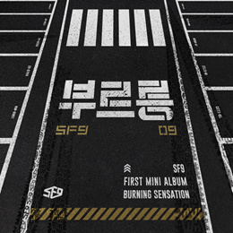 SF9 - Burning Sensation (1st Mini Album) CD+Photobook+Photocard