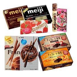 메이지 인기 초콜릿 9종 모음 / 밀크 블랙 딸기 카카오 / 일본에서 가장 대중적인 초콜릿 브랜드 메이지 상품 모음
