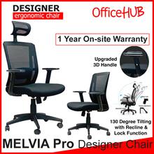 Ergonomic Office Chair MELVIA PRO ★ High Back / Mid Back ★ Mesh ★ Computer ★ Study ★ Executive