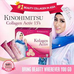 Kinohimitsu Kolagen Activ 15s *Your Mini Beauty Shot! Instant Result in 7 days! ♥