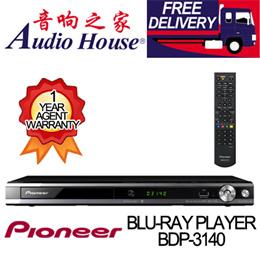 PIONEER BDP-3140 BLU-RAY PLAYER 1 YEAR PIONEER WARRANTY