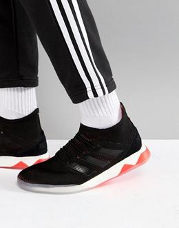 5cbfe4893e0 adidas Soccer Tango Predator 18.1 Sneaker In Black CP 9268