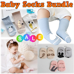Baby Infant Girls Boys Socks Bundle Sale★Korean Imported★Good Quality★100% Cotton★Express Shipping