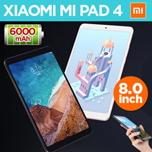 💖Local Shipping💖【Ready Stock】Xiaomi Mi Pad 4 32GB/64GB Tablets 4 Snapdragon 660 AIE CPU 8.0 Tablet